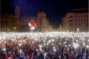 hungarian protest
